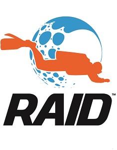 Xclusive Scuba Bloemfontein - RAID Logo